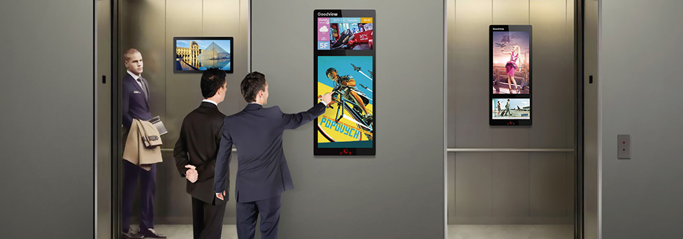 Elevator AD Display Solution