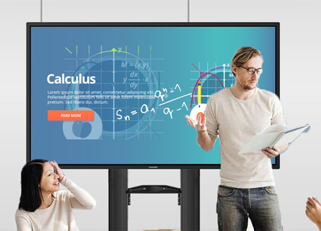 Interactive Blackboard Solution for Smart Classroom