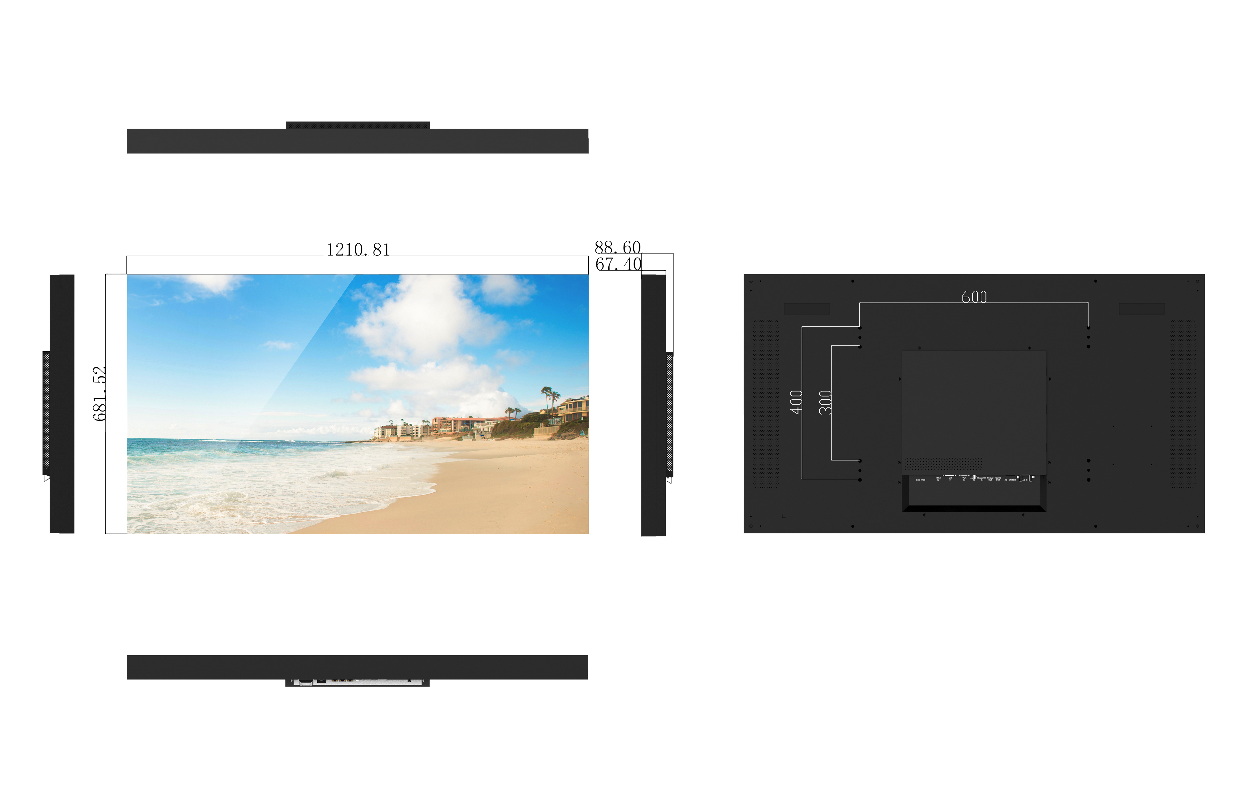 Video wall PD55NP